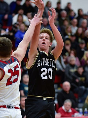 Senior Spencer Pettit leads the Trojans, averaging 19.5 points and 7.3 rebounds per game.