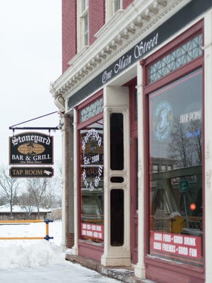 Stoneyard Brewing Co., 1 Main St., is on the Erie Canal in the village of Brockport.