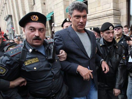 EPA FILE RUSSIA NEMTSOV KILLING CLJ CITIZENS INITIATIVE & RECALL CRIME RUS