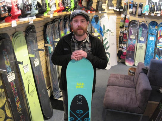 Derek Tiplady of SkiRack in Burlington said the store