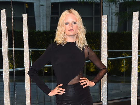 Hanne Gaby Odiele attends the 2015 CFDA Fashion Awards