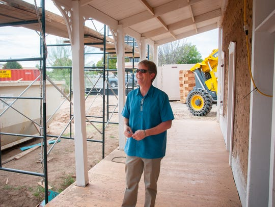 Mesilla Valley Preservation President Eric Liefeld
