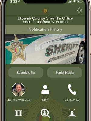 The Etowah County Sheriff's Office recently launched an app for smartphones and devices, to allow users to get information and sign up for alerts from the agency.