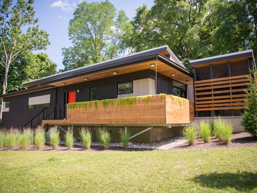 Cool Homes: In Northside, minimalist modern goes green