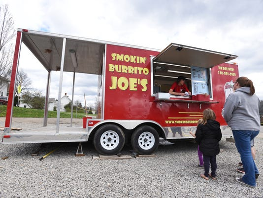 Food Truck Serves Burritos In New Concord