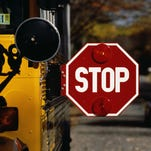 Driver on leave after Howell school bus crash