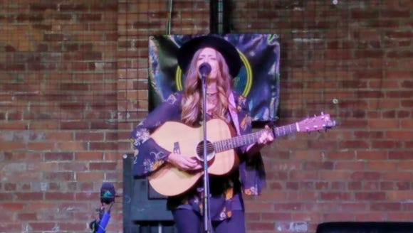 Local musician Bridget Boen performed on Sioux Empire