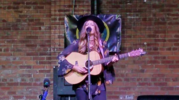 Local musician Bridget Boen performed on Sioux Empire Tonight.