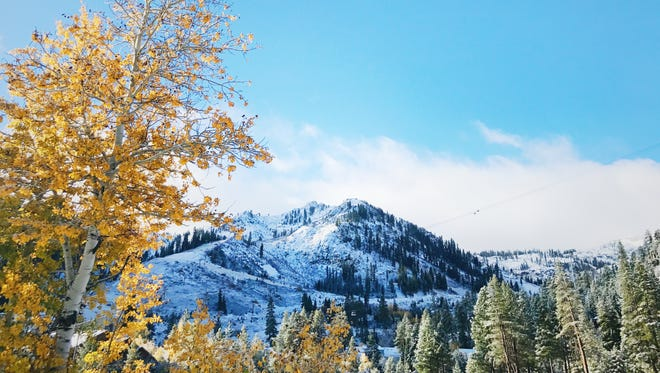 Squaw Valley/Alpine Meadows on Oct. 20, 2017.