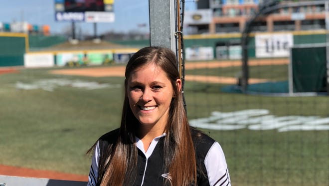 Allison Tropf is working as the team dietitian for the Lansing Lugnuts this season. This season is the first the Toronto Blue Jays have had dietitians working at each of their minor league affiliates.