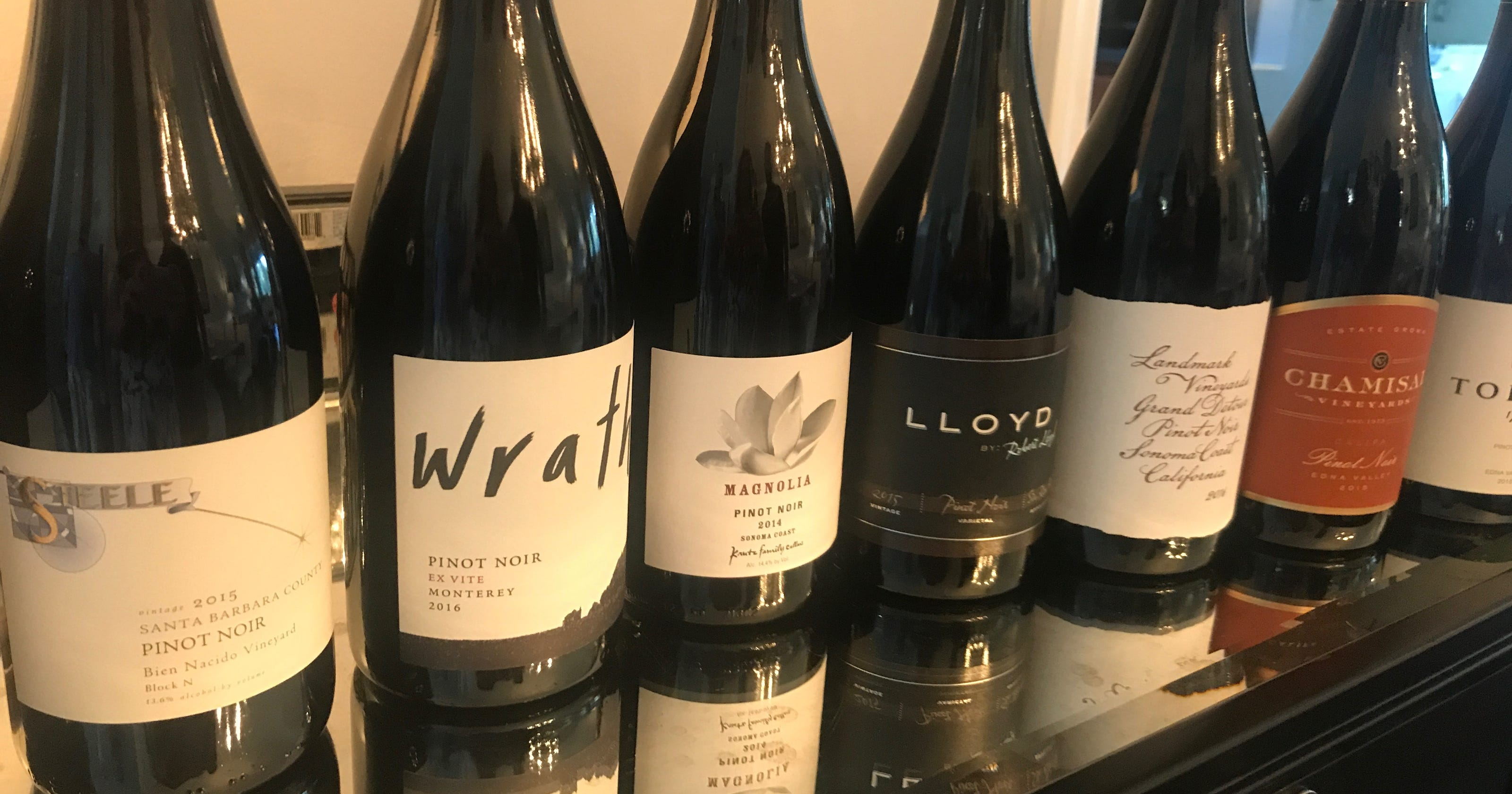 Gina Drinks: A celebration of California's pinot noirs