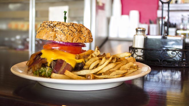 A burger from House of Omelets in Cape Coral.