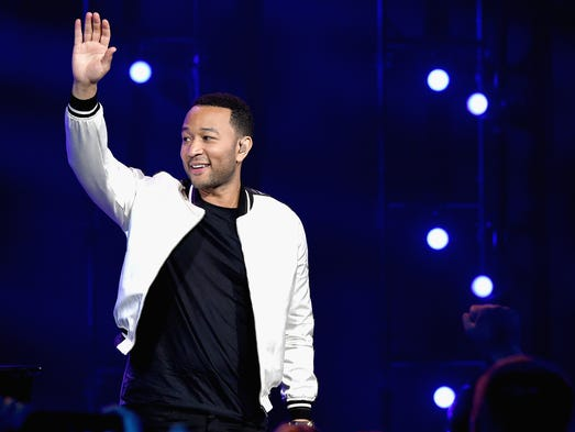 John Legend performs   at the iHeartRadio Theater in