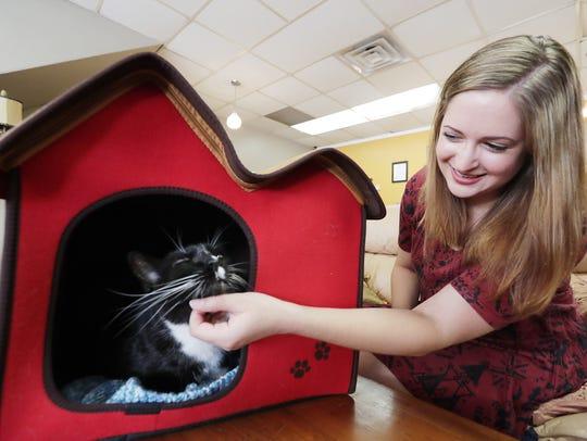 Safe Haven Pet Sanctuary owner Elizabeth Feldhausen