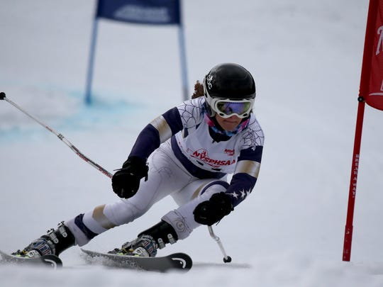 GiGi Vasile at New York State Championships at Bristol Mt.