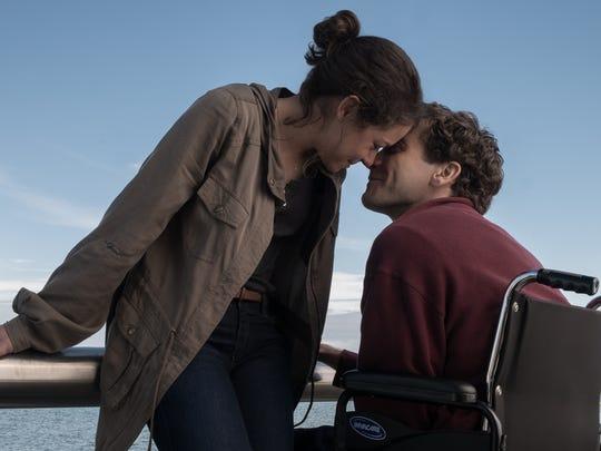 """Tatiana Maslany and Jake Gyllenhaal star in """"Stronger."""""""