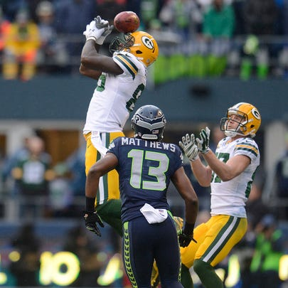 Green Bay Packers tight end Brandon Bostick can't catch