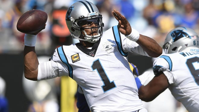 Quarterback Cam Newton has reportedly reached a free-agent deal with the New England Patriots. Newton was the 2015 NFL Most Valuable Player.