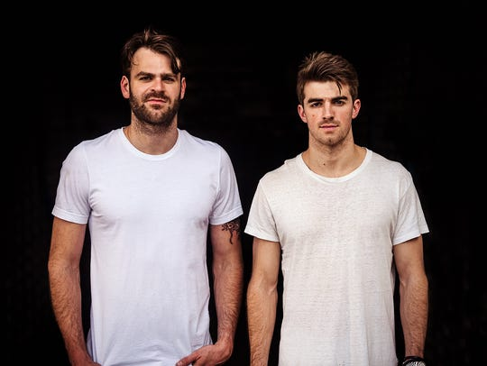 The Chainsmokers are on board the Made in America caravan.