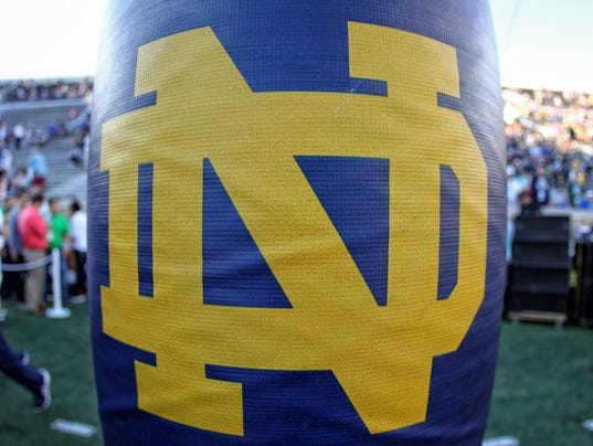 NCAA Football: Michigan State at Notre Dame