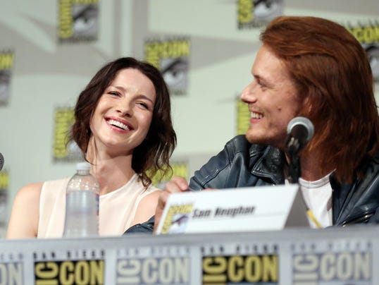AP Starz Outlander at Comic-Con - Day 2