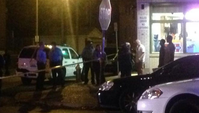 Police are on the scene of an officer-involved shooting in south St. Louis.
