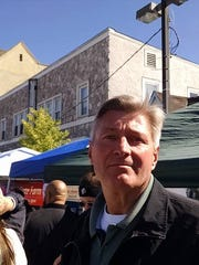Carmel town Supervisor Ken Schmitt, in Mahopac at the Columbus Day Parade on Sunday, wants action taken on the missing funds from the Mahopac Volunteer Fire Department.