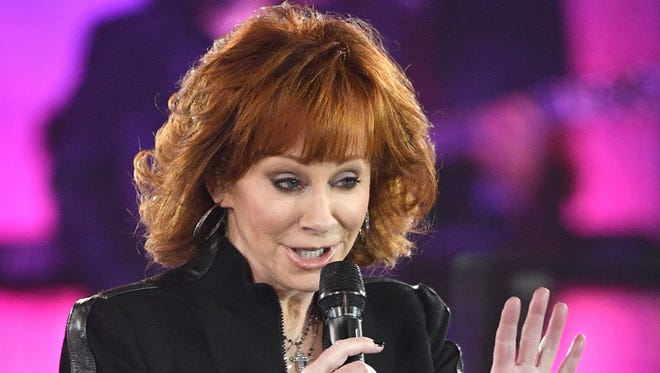 Reba McEntire, shown performing in Nashville, Tenn., in November, will headline the 2018 Wisconsin State Fair Aug. 12.