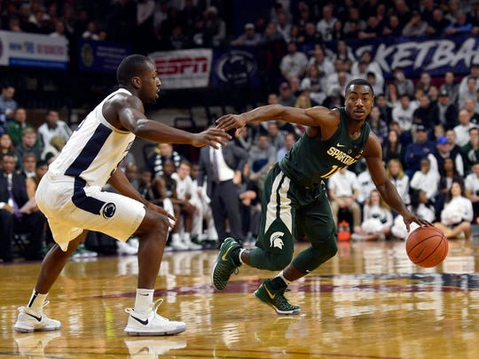 Junior point guard Tum Tum Nairn had 13 points, two