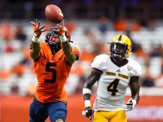 NCAA Football: Central Michigan at Syracuse