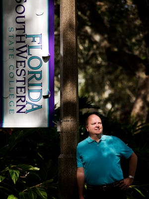 Florida Southwestern State College President Jeff Allbritten is celebrating his second year as president of the college.