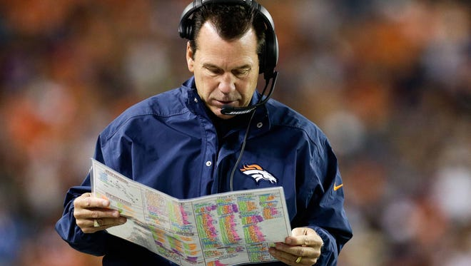 Broncos coach Gary Kubiak is still searching for an answer to his QB riddle.
