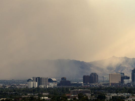 Monsoon Dust Storm