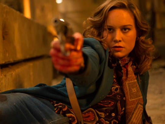 This image released by A24 shows Brie Larson in a scene