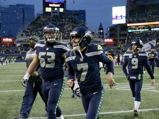 Seahawks kicker Blair Walsh missed three field goal