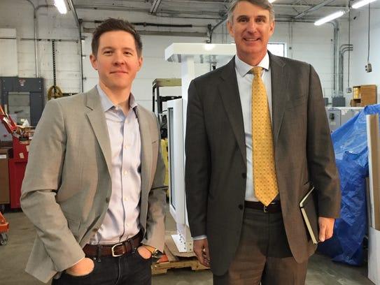 Endeavor Detroit board members Nate Lowery, CEO of