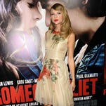 Taylor Swift attends the premiere of 'Romeo And Juliet' at ArcLight Hollywood on Sept. 24, 2013 in Hollywood.