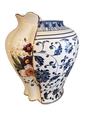 Seletti Hybrid-Melania vase, $192, Urban Objects.