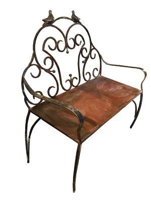Paloma bench, $1,870, duh.