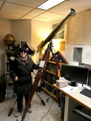 Diane Hall, president of the Warren Astronomical Society,