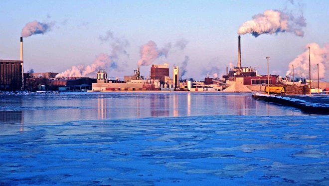 Paper mills are a longstanding Wisconsin industry, and can be found around the state, including on the Fox River in Green Bay.