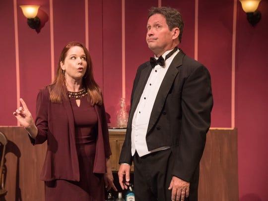 Kirsten Sham plays Yvonne and Richard Bugg plays Albert