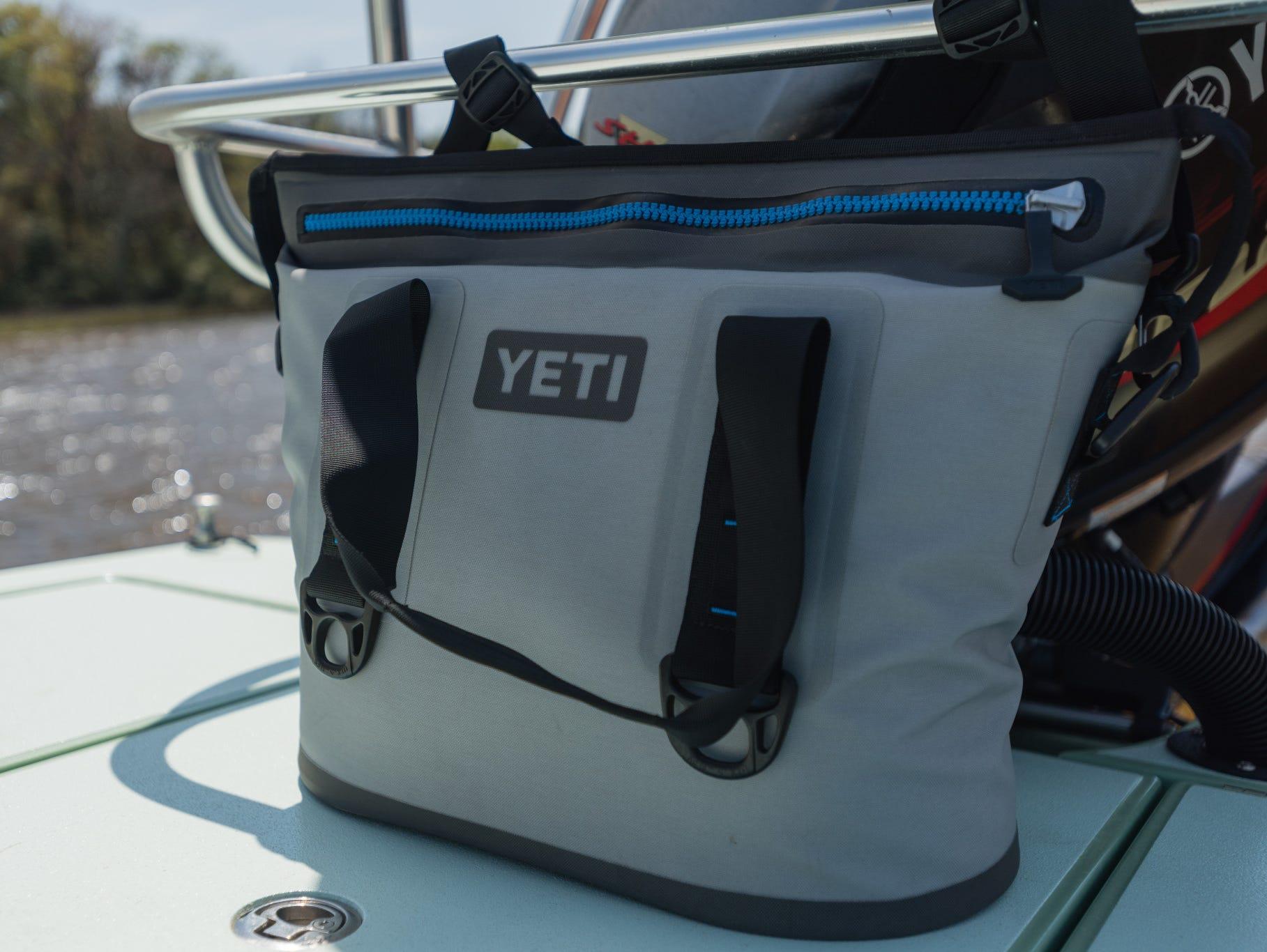 We're heating things up with sizzling hot giveaways for hitting the open road! THIS WEEK: YETI Cooler