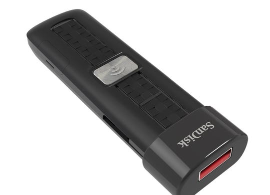 SanDisk Connect Wireless Flash Drive - a