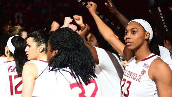 The Florida State Women's Basketball team is looking to clinch a spot in the Elite Eight tonight with a victory over No. 2 seed Oregon State.
