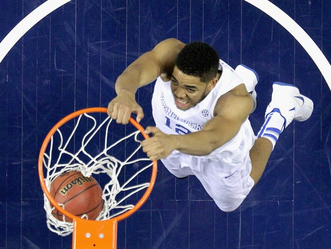 Go through the gallery for The Detroit News' NBA mock
