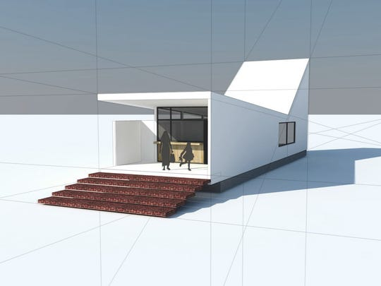 Joel Barkley's shotgun house concept