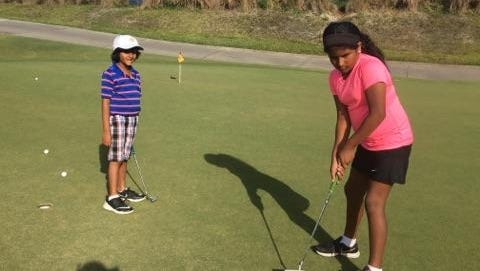 Anjala Joseph, 9, and Cyrus Joseph 7, of Melbourne will compete in the 2nd annual DCP event at Duran May 19.