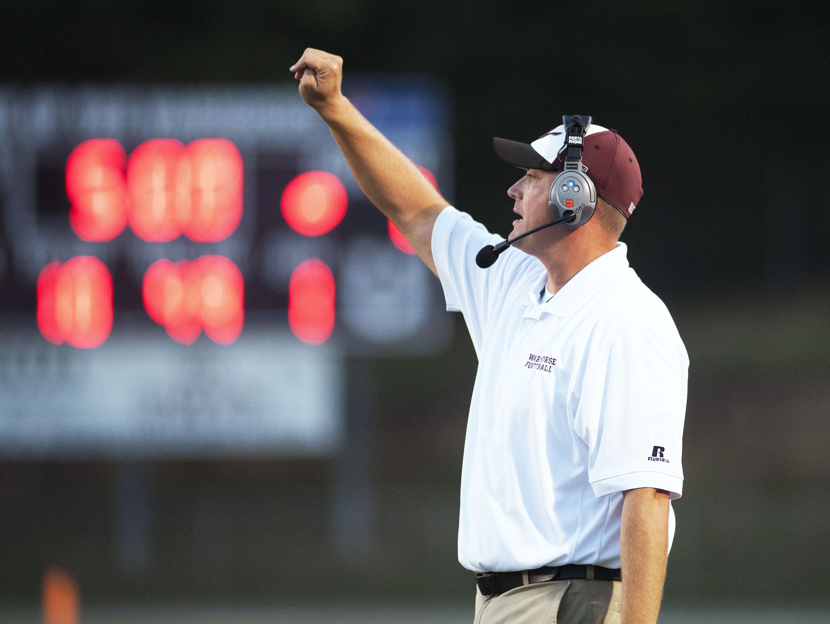 Owen football coach Nathan Padgett won his first game with the Warhorses on Friday at Avery County.