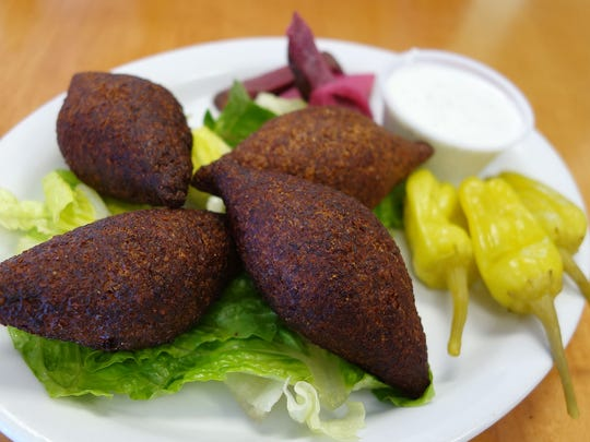 Kibbeh at Green Corner.